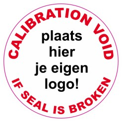 Calibration Void Sticker