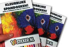 GRATIS Spandoek proef/monster