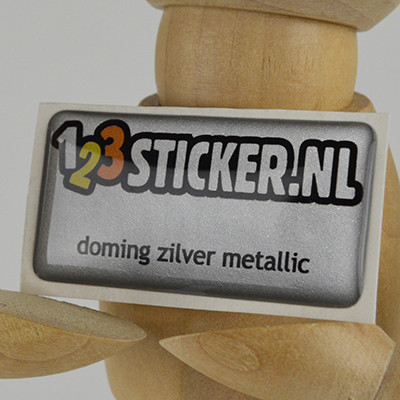 Doming Zilver Metallic